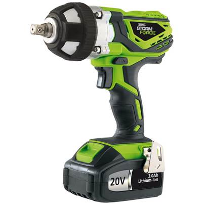 Draper Storm Force Cordless Impact Wrench (20V)