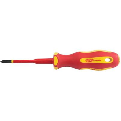 Draper Ergo Plus® Slimline Cross Slot VDE Screwdriver (No:1 x 80mm)