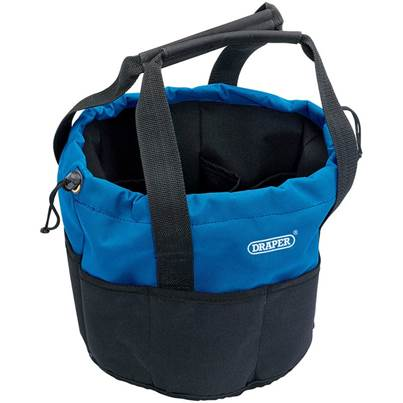 Draper 14 Pocket Bucket-Shaped Bag