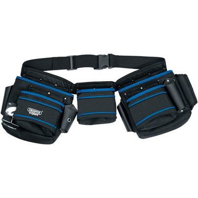 Double Pouch Tool Belt