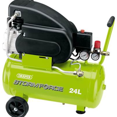 Draper 24L 230V 2hp Air Compressor
