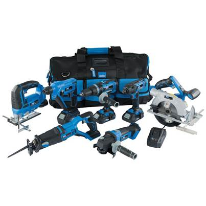 Draper Storm Force®  20V Cordless Kit (12 Piece)