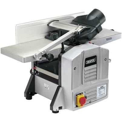 Draper Bench Mounted Planer Thicknesser (1500W)