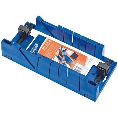 Draper Expert Mitre Box with Clamping Facility 367mm x 116mm x 70mm
