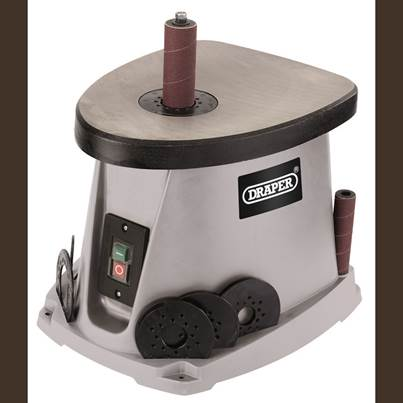 Draper Oscillating Spindle Sander (450W)