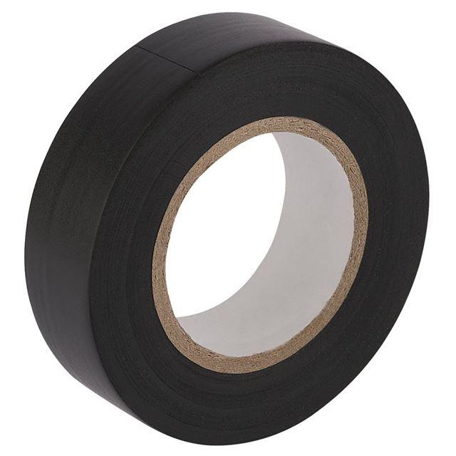 Draper Insulation Tape, 20m x 19mm, Black