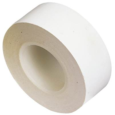 Draper 10M x 19mm White Insulation Tape to BSEN60454/Type2 (Pack of 8)