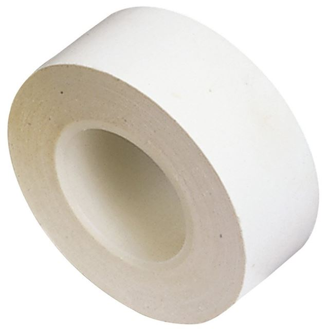 Draper Insulation Tape to BSEN60454/Type2, 10m x 19mm, White (Pack of 8)