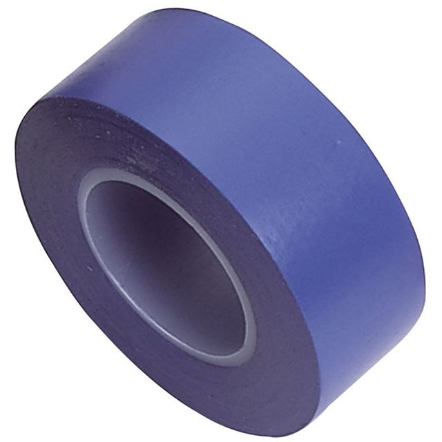 Draper Insulation Tape to BSEN60454/Type2, 10m x 19mm, Blue (Pack of 8)