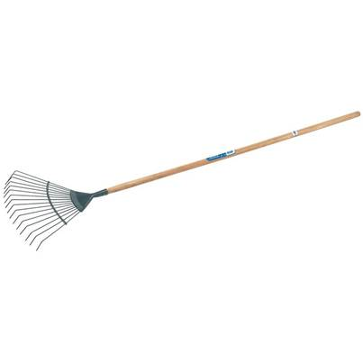 Draper Carbon Steel Lawn Rake with Ash Handle