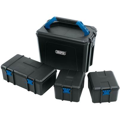 Draper Plastic Container Set (4 Piece)
