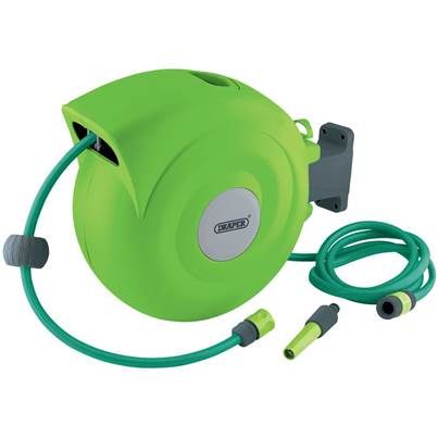 Draper Retractable Garden Hose Reel (20M)