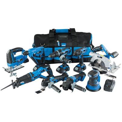 Draper Storm Force® 20V Cordless Kit (9 Piece)
