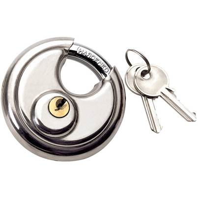 Draper 70mm Close Shackle Stainless Steel Padlock