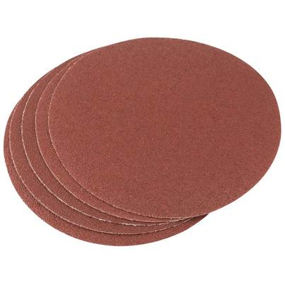 Draper Five 200mm 60 Grit Hook and Eye Backed Aluminium Oxide