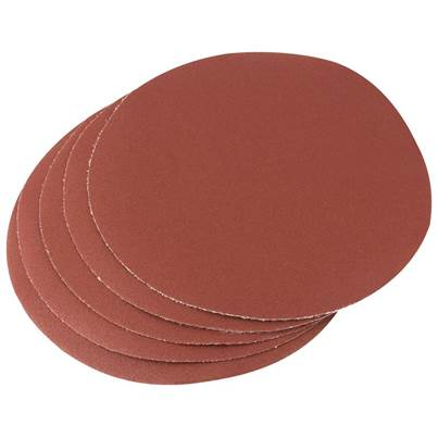 Draper Five 200mm 120 Grit Hook and Eye Backed Aluminium Oxide