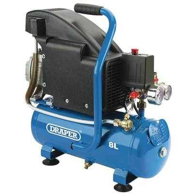 Draper 8L Air Compressor (0.75kW)