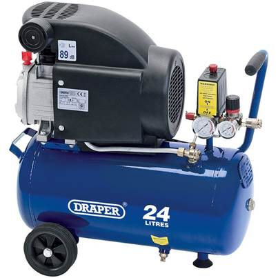 Draper 24L Air Compressor (1.5kW)