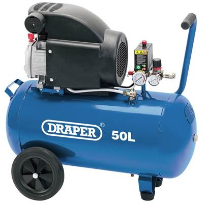 Draper 50L Air Compressor (1.5kW)