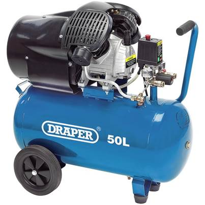 Draper 50L Air Compressor (2.2kW)