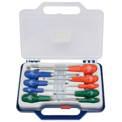 Cabinet Pattern Screwdriver Set (9 Piece)