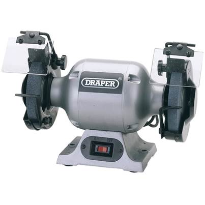 Draper 150mm Heavy Duty Bench Grinder (370W)