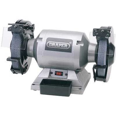 Draper 200mm Heavy Duty Bench Grinder (550W)