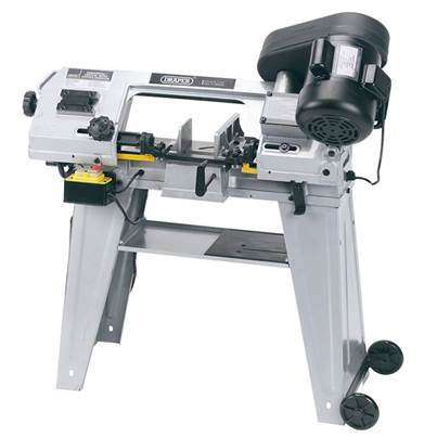 Draper 150mm Horizontal/Vertical Metal Cutting Bandsaw (350W)