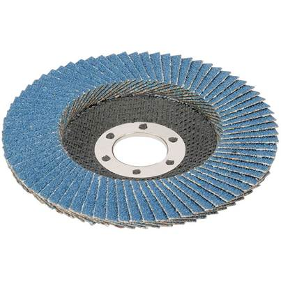 Draper 100mm Zirconium Oxide Flap Disc (40 Grit)