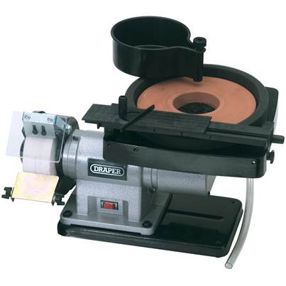 Draper Wet and Dry Bench Grinder (350W)