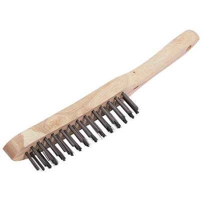 Draper 4 Row Wire Scratch Brush (290mm)