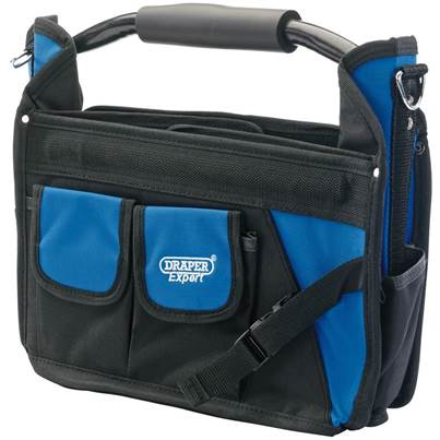 Draper Folding Tote with Tubular Steel Handle