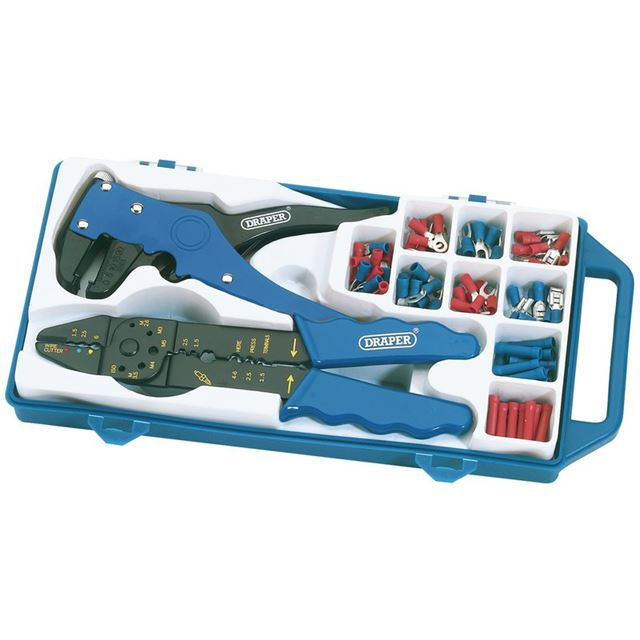 Draper 6 Way Crimping and Wire Stripping Kit