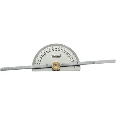 Draper Protractor with Depth Gauge