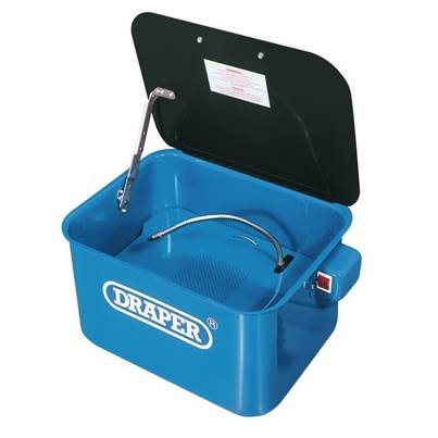 Draper 230V Bench-Mounted Parts Washer