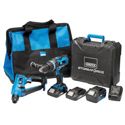 Draper Storm Force® 20V Cordless Kit (7 Piece)