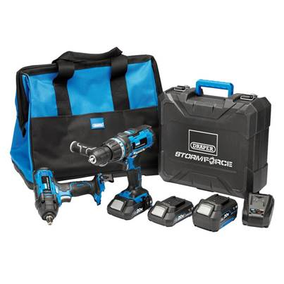 Draper Storm Force® 20V Cordless Workshop Kit (7 Piece)