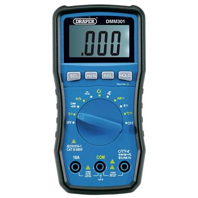 Draper Automotive Digital Multimeter