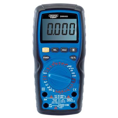 Draper Digital Multimeter (Manual-Ranging)