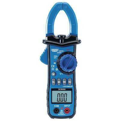 Draper Digital Clamp Meter (Manual-Ranging)