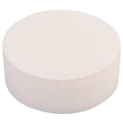 Draper 90mm Polishing Sponge - White