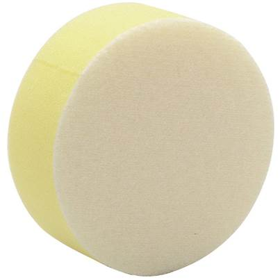 Draper 90mm Polishing Sponge - Yellow