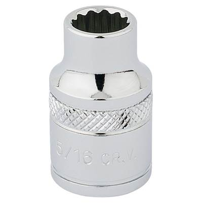"Draper 3/8"" Sq. Dr. Hi-Torq® 12 Point Socket (5/16"")"