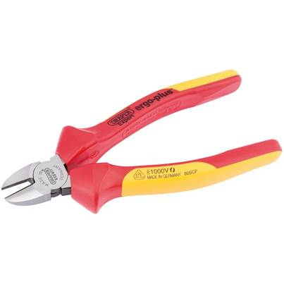 Draper 180mm Ergo Plus® Fully Insulated VDE Diagonal Side Cutters