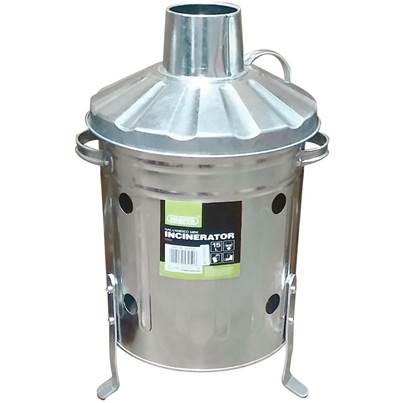 Draper Galvanised Mini Incinerator (15L)