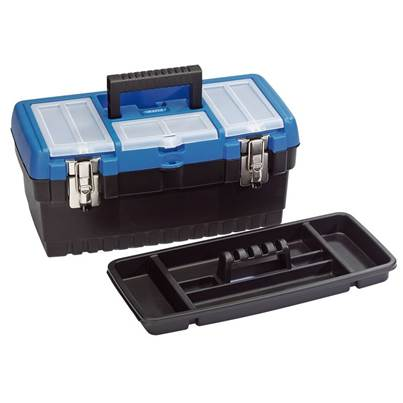 Draper 413mm Tool Organiser Box with Tote Tray