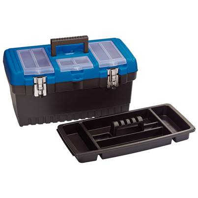 Draper 486mm Tool Organiser Box with Tote Tray