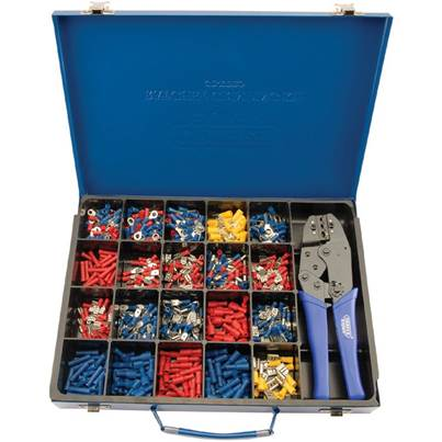 Draper Ratchet Crimping Tool and Terminal Kit