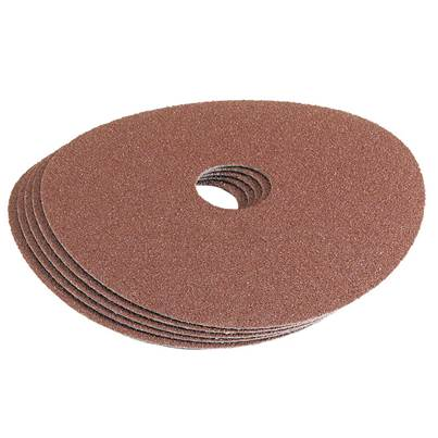 Draper 115mm 36Grit Aluminium Oxide Sanding Disc Pack of 5