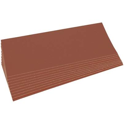 Draper Ten 280 x 115mm Aluminium Oxide Sanding Sheets